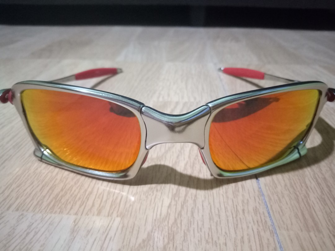 e2b1a0eba9 X-Squared Oakley Shades (Polarized Fire Red Lens)