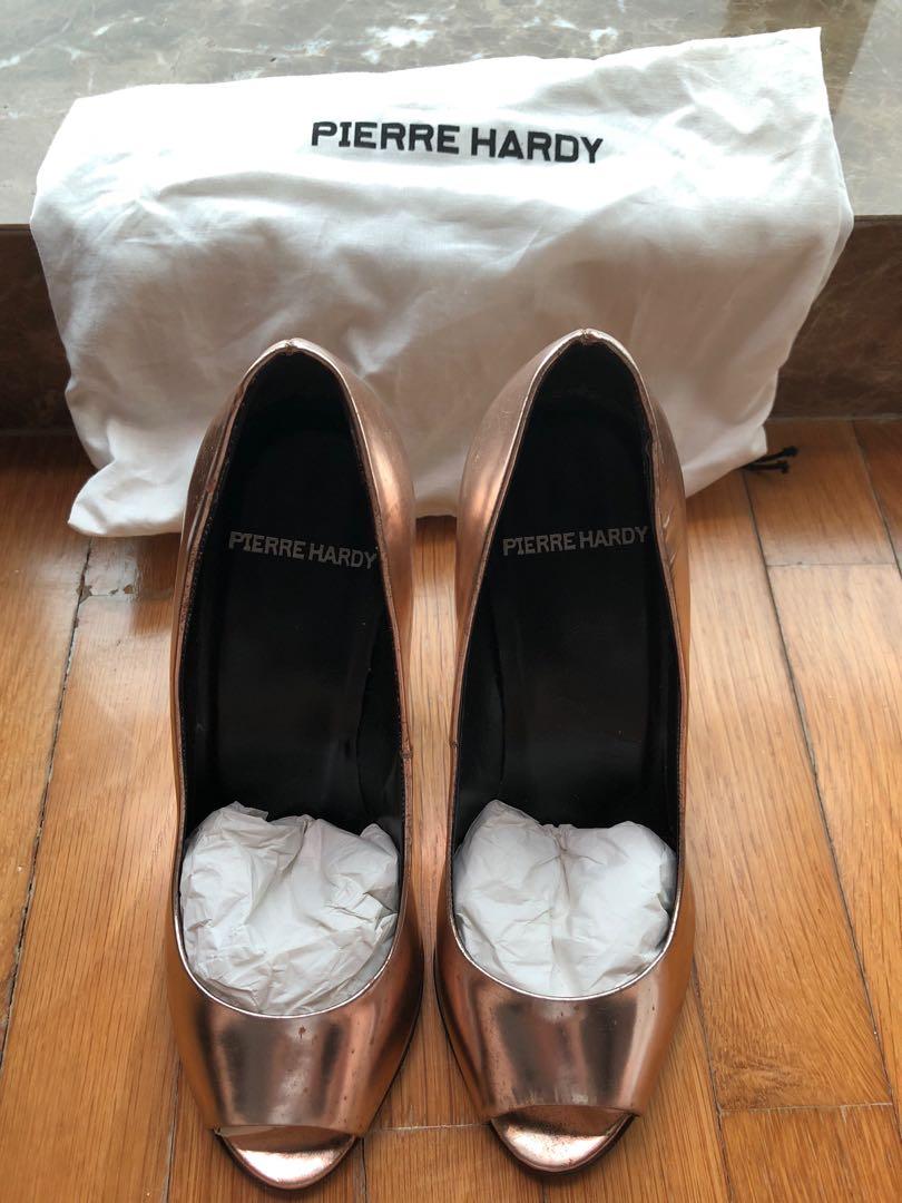 d330ad44a Pierre Hardy peep toe heels 35.5, Women's Fashion, Shoes, Heels on ...
