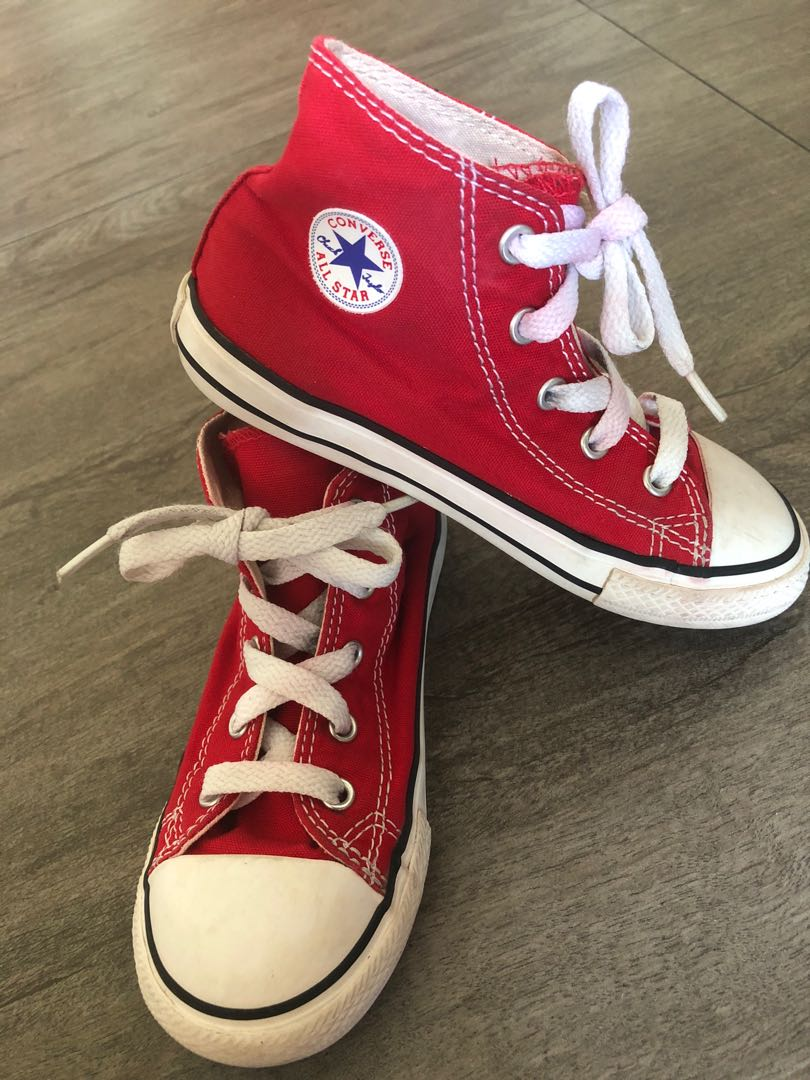 a56e6a53e440 Preloved Converse Kids High-Cut Shoes