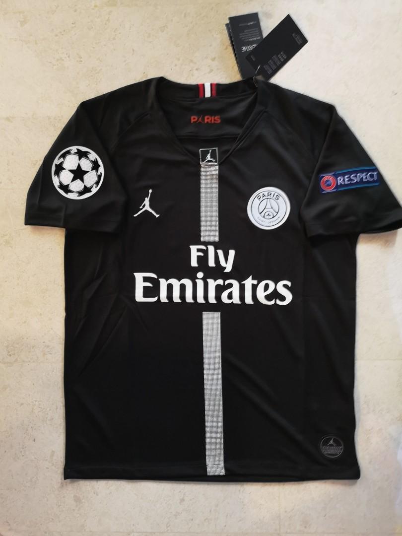 promo code f141c c016d PSG x Jordan UCL Kit (Instock), Sports, Sports Apparel on ...