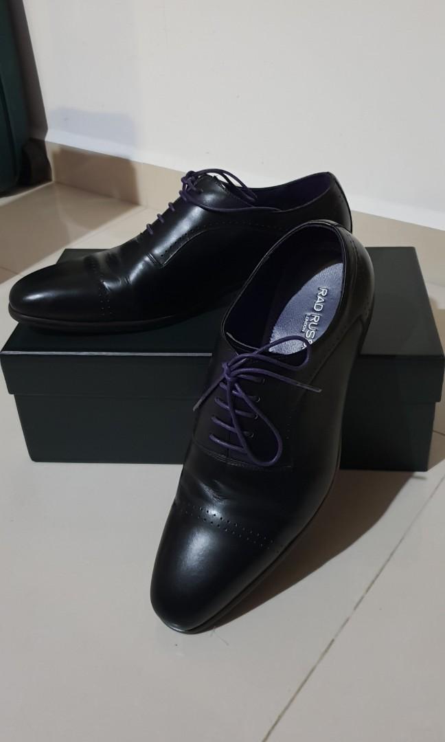 1962f2f04005 Rad Russell Black Formal Shoe