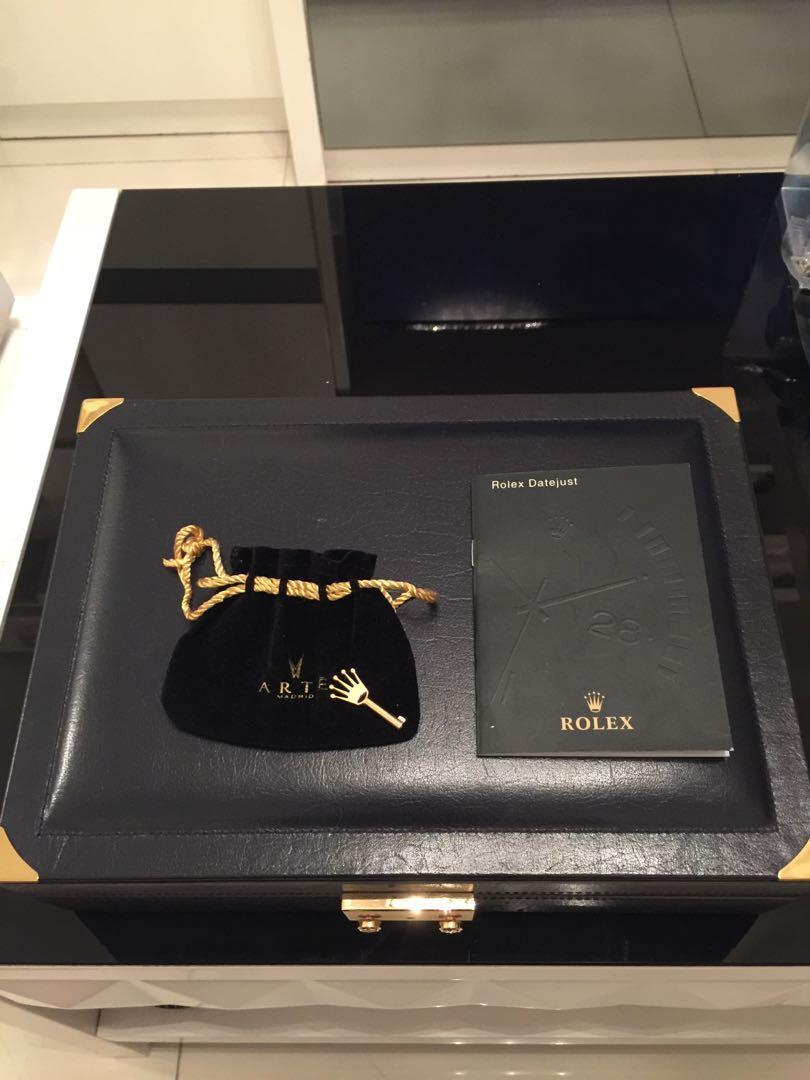 ROLEX罕有錶飾盒