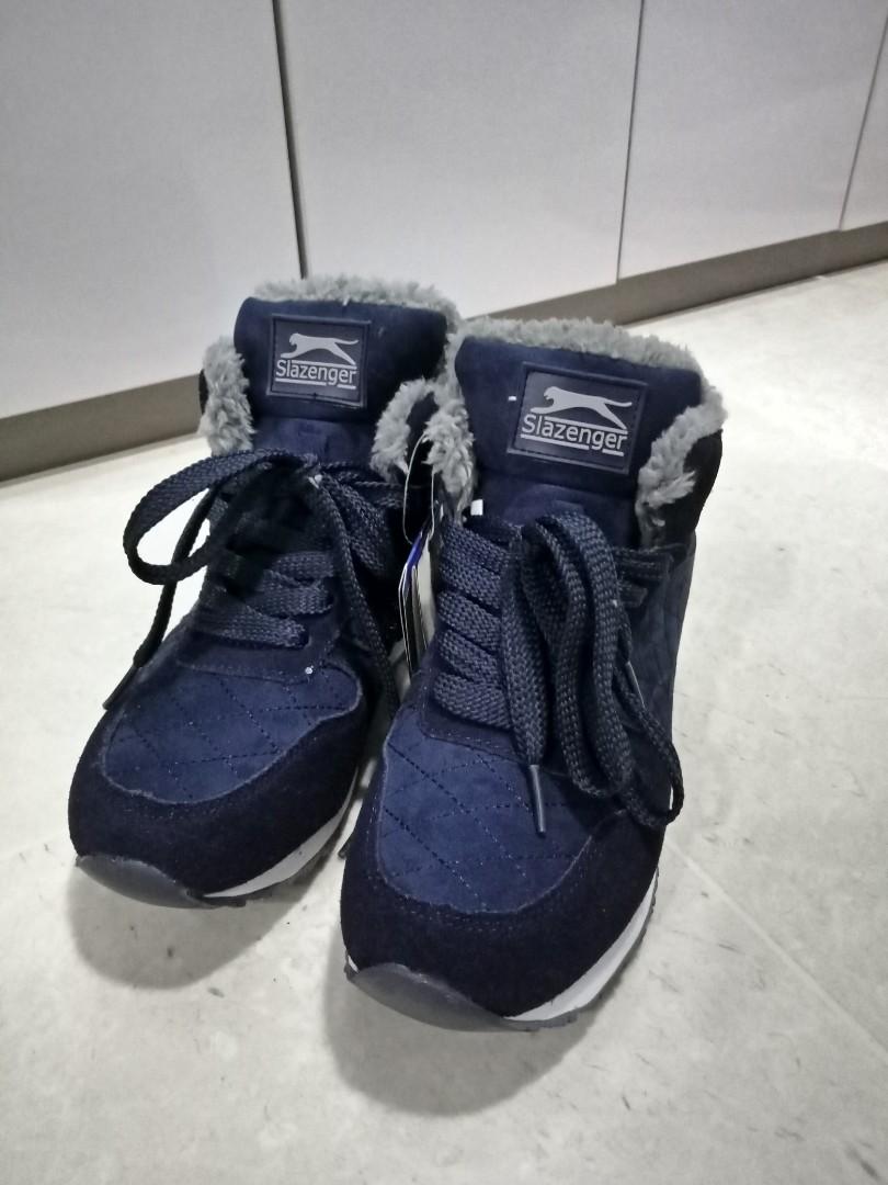 08a1eeb60a Slazenger Dark Blue Winter Boots, Men's Fashion, Footwear, Boots on ...