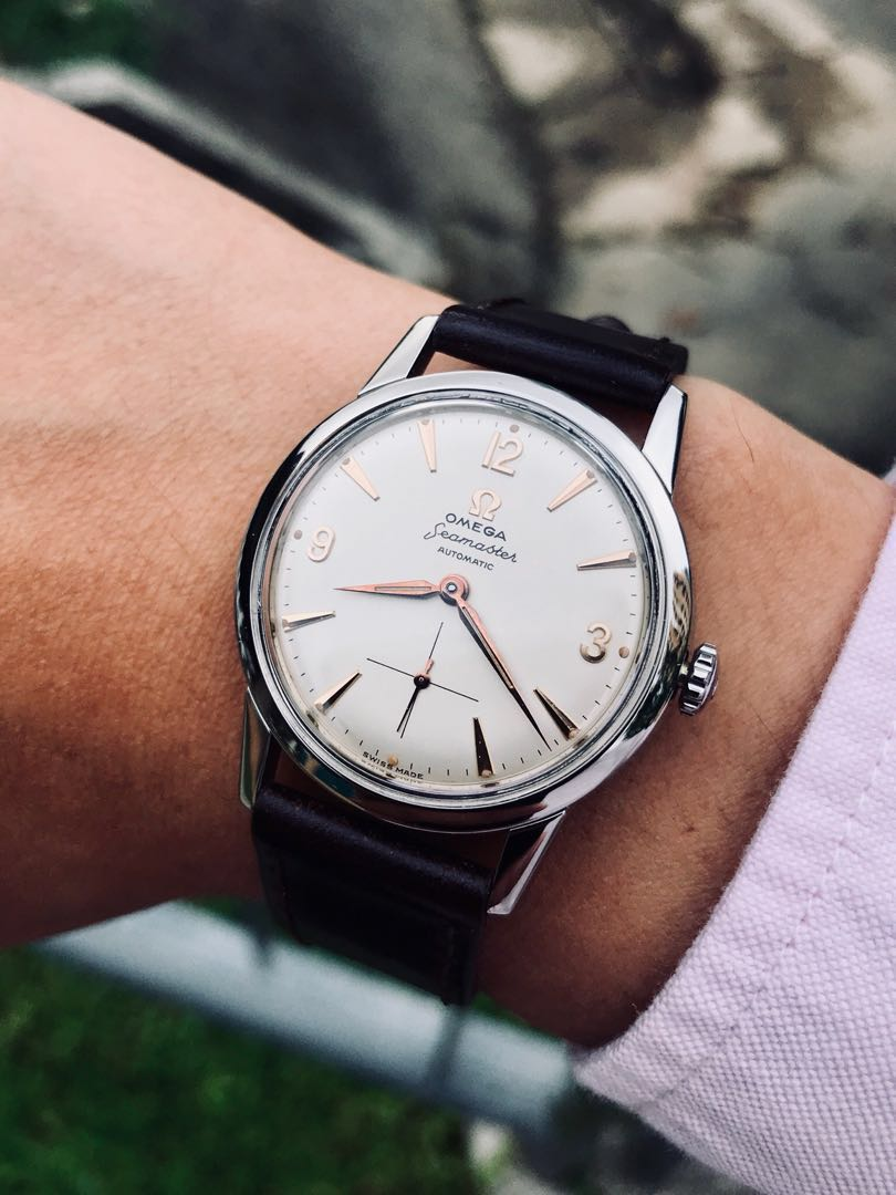 e4fc3b57717b SOLD!! Vintage 1958 Omega Seamaster - Automatic Cal. 491 - Perfectly ...