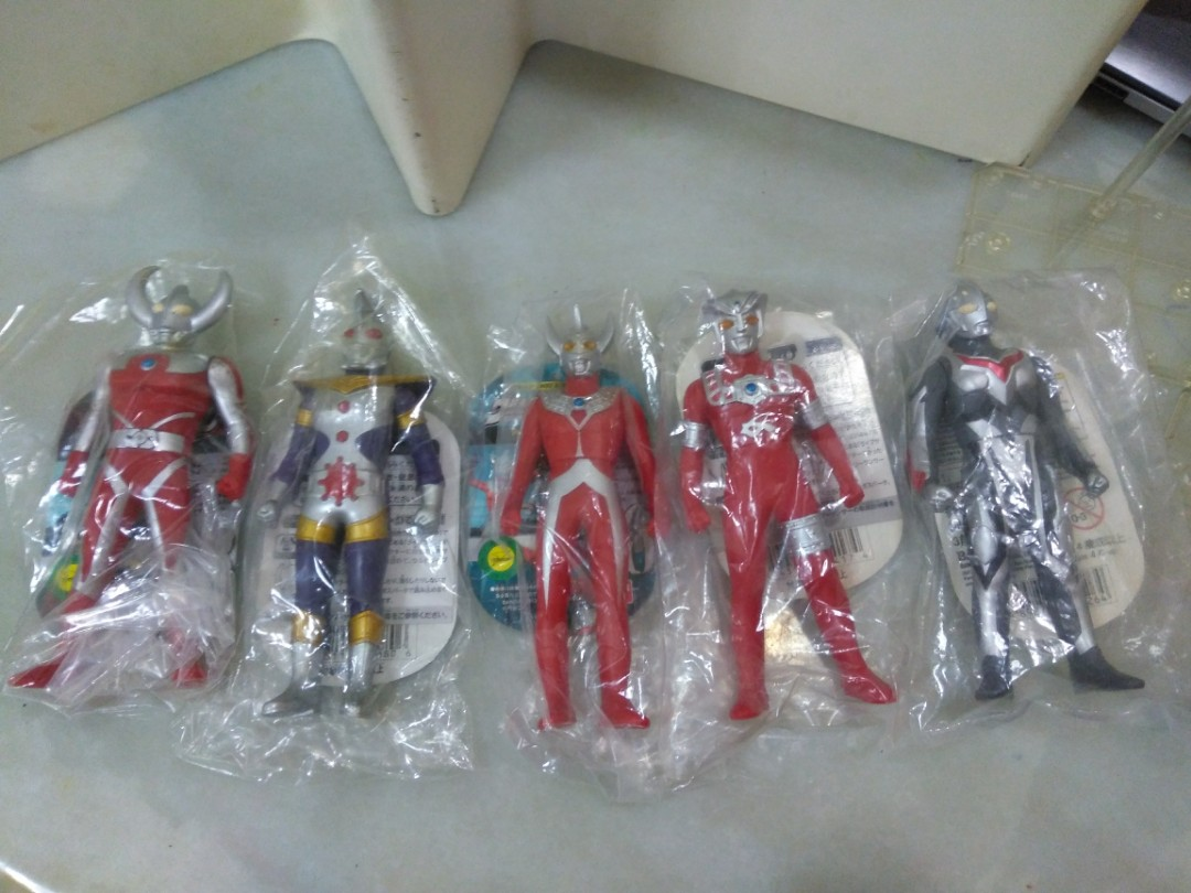 Ultraman 500 series spark doll ultra father each Toys & Games Bricks & Figurines on Carousell