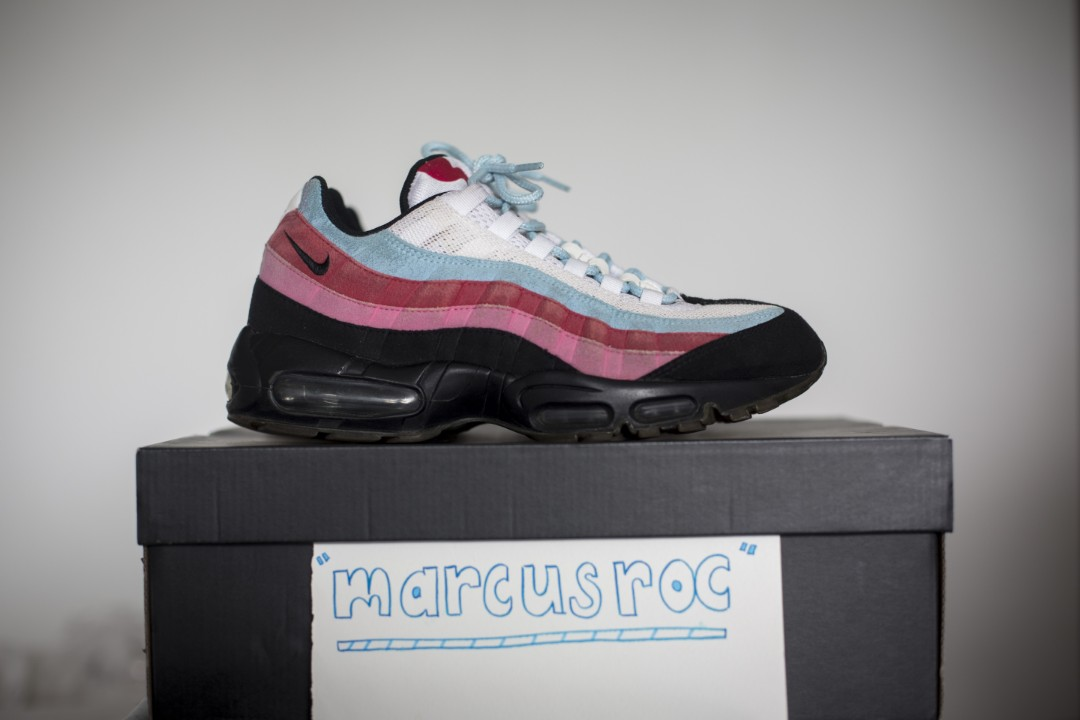 best sneakers cead8 f2e47 Us8.5 Parra Air Max 95 running man, Men's Fashion, Footwear ...