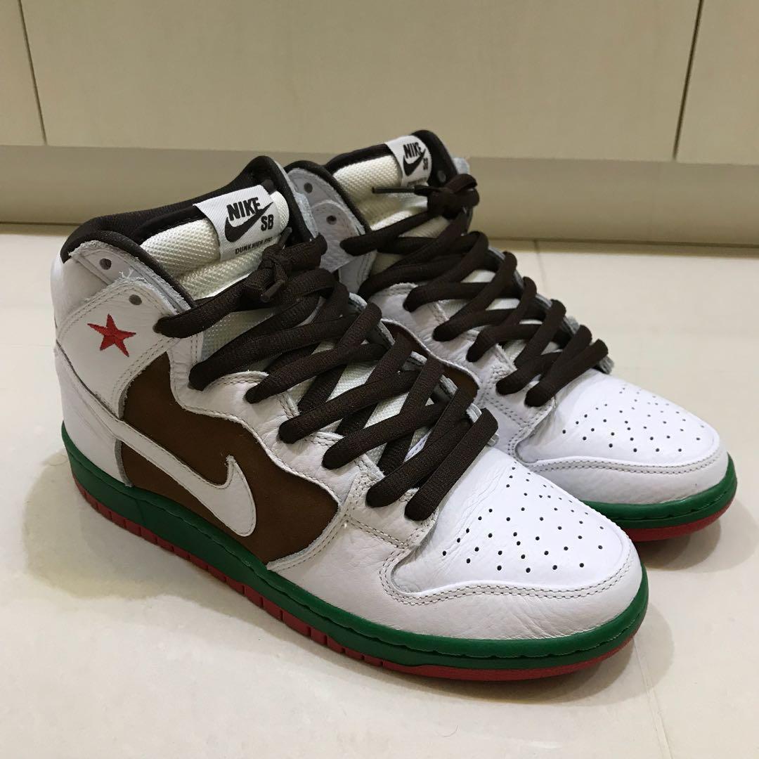 hot sale online 9c524 7408e US9 Nike Dunk High SB Cali, Men s Fashion, Footwear, Sneakers on ...