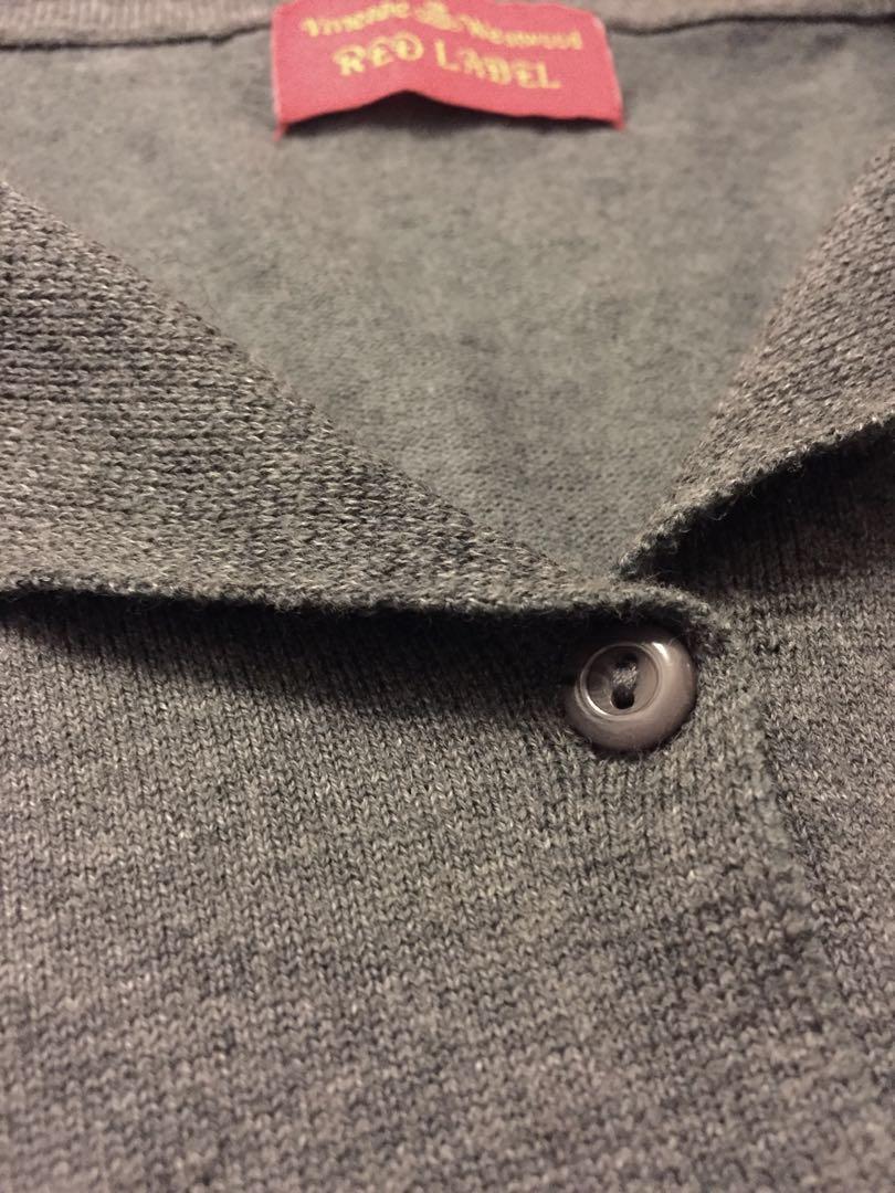Vivienne Westwood 女裝灰色針織外套