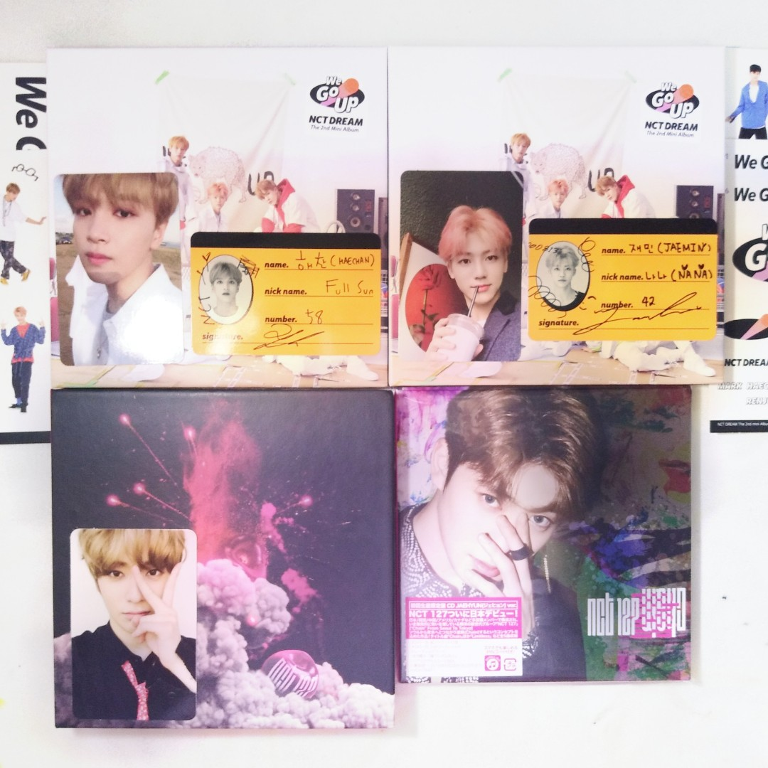 [WTS] nct dream/ 127 albums (we go up, cherry bomb, chain)