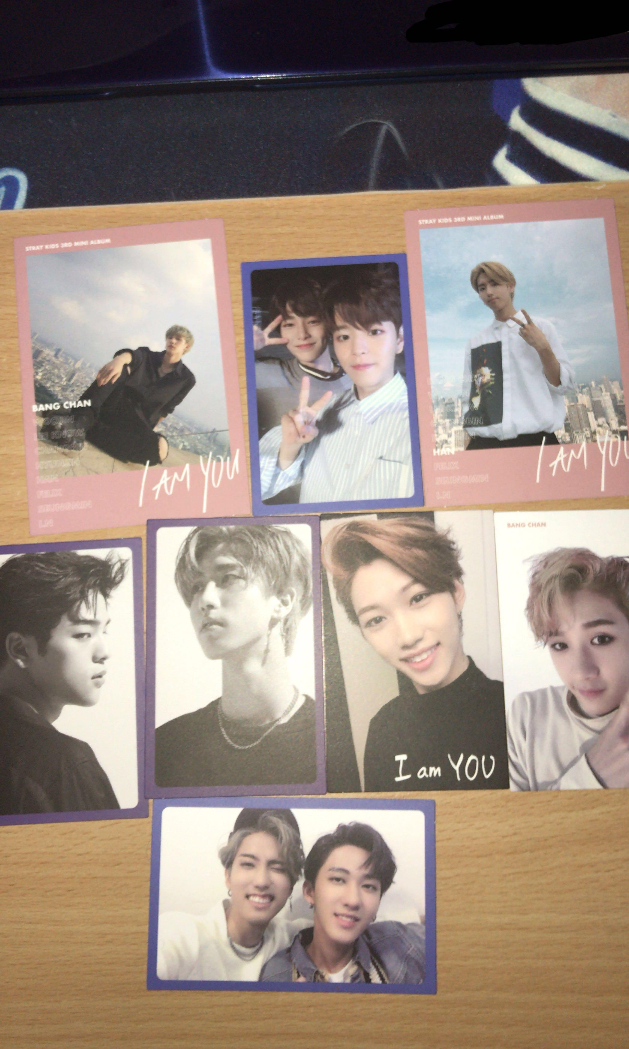 WTT] Stray kids I am you photocards, Entertainment, K-Wave