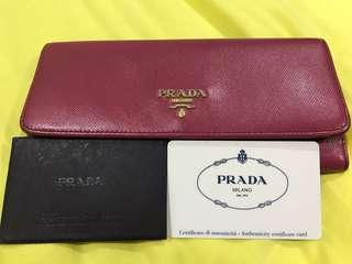 {CHEAP DEAL} Authentic Prada Saffiano Wallet