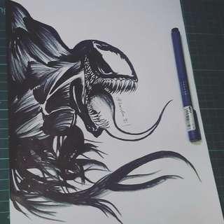 Venom Artprint