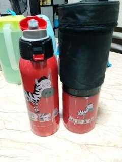 Thermos Flask 750ml + thermo mug 500ml