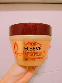 🚚 L'OREAL PARIS 巴黎萊雅金緻護髮精油髮膜