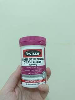 Swisse high strength cranberries