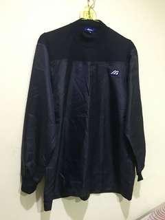 🚚 MIZUNO 深藍貼領運動上衣