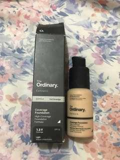 🚚 The Ordinary high coverage foundation