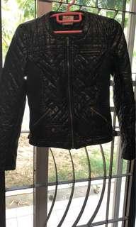 Zara Trafaluc Winter Jacket Size M Faux Leather