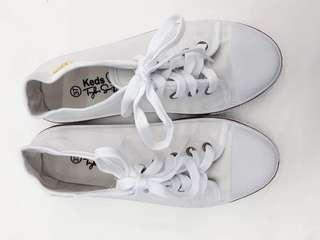 BRAND NEW: Class A Keds Taylor Swift White Sneakers SIZE 7