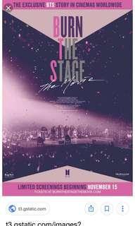 Burn the stage movie