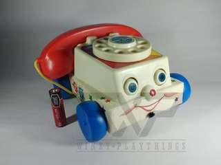 Toy story: Chatter phone
