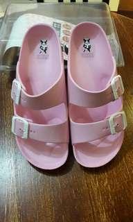 RB粉紅防水拖鞋