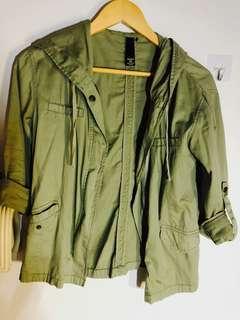 🚚 Army Green Bomber Jacket
