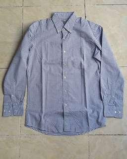 Uniqlo gingham T shirt original flannel