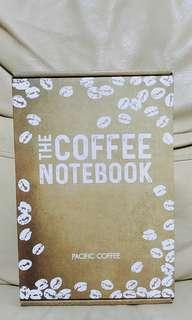 100% New Pacific Coffee Notebook