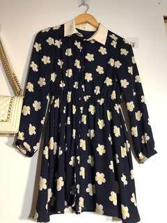 🚚 Floral Babydoll Dress