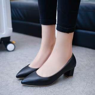 Black Heels 5cm