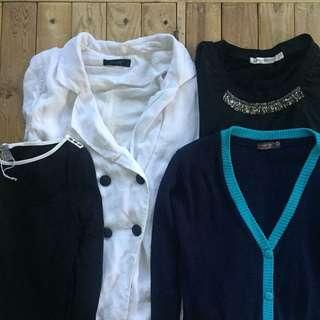 LONG SLEEVES/BLAZER/CARDIGAN BUNDLE (4)