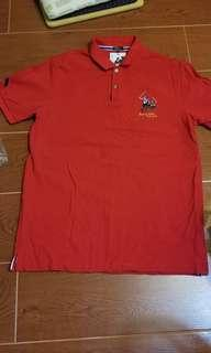 正版polo上衣(紅色)