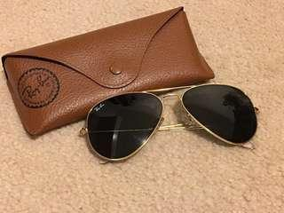 Authentic Rayban Aviator Large Metal (L0205)