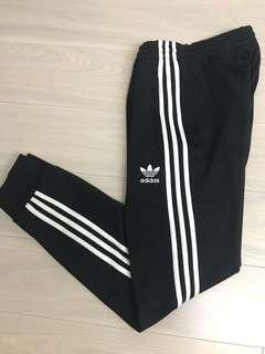 Adidas Originals Cuffed Track Pants AJ6960 黑色 縮口 棉褲 S