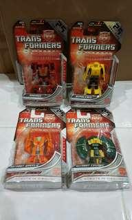 TRANSFORMERS UNIVERSE LEGENDS CLASS : 25TH ANNIVESARY SET marvel dc neva spawn shf