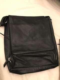 Hong Kong Jockey Club Leather Shoulder Bag 香港賽馬會 包