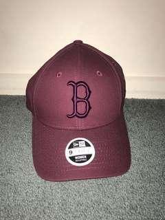 Boston Hat (maroon)