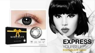 SOFTLENS KOKO BLACK GOTHIC