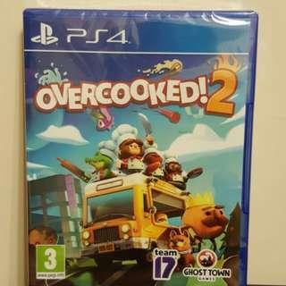 PS4 Overcooked 2 全新
