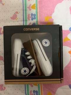 Baby converse navy blue
