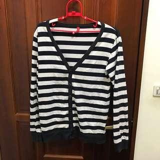🚚 黑白條紋罩衫