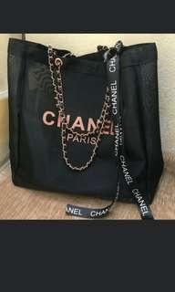 (NO INSTOCKS!)Preorder Chanel paris mesh Tote bag * waiting time 15 days after payment is made * chat to buy to order