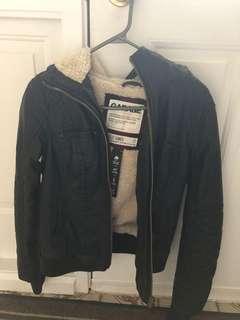 Garage Faux Leather Jacket