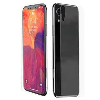 [Front+Back] iPhone XR Full 9H HD Tempered Glass