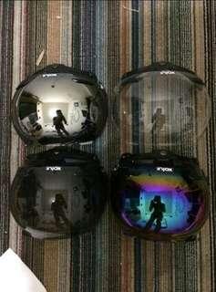 Mika helm bogo sudah bonus pet helm