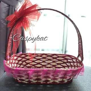 Various Decorative Woven Baskets