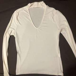 Choker shirt
