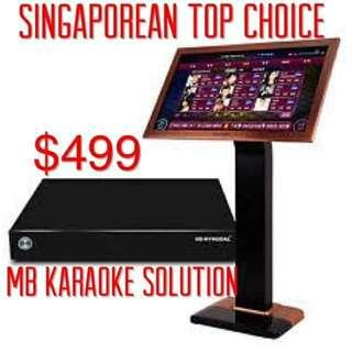 ㊗️MB Non-streaming home karaoke system(Free monthly update 2 years warranty )