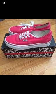 Vans Red Authentic Style